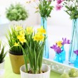 Easter table - Stockfoto