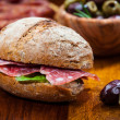 Whole grain sandwich — Stockfoto #25509941