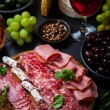 Meat catering platter — Foto Stock