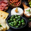 Antipasto and catering platter — Stock Photo #26908537