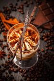 Frozen tiramisu dessert — Stock Photo