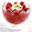 Raspberry dessert — Stock Photo #27161417