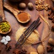 Aromatic food ingredients for baking — Stock Photo #30669847