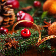 Traditional Christmas decoration — Foto Stock