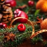 Traditional Christmas decoration — Stock Photo