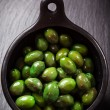 Green olives — Foto de Stock