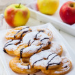 Apple pancake rings — Stock Photo #33664791