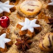 Christmas baking — Stock Photo