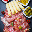 Antipasti and catering platter  — Stock Photo #41901093