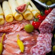 Antipasti and catering platter  — Stock Photo #41901533