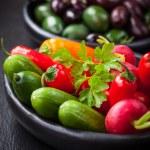 Raw snack vegetable — Stock Photo #42680373