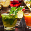 Party cocktails and longdrinks for summer — Stock Photo #48262741