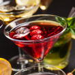 Party cocktails and longdrinks for summer — Stock Photo #48262779