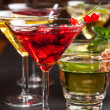 Party cocktails and longdrinks for summer — Stock Photo #48262867