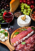 Antipasto dinner platter  — Stock Photo