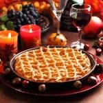 Apple pie for Thanksgiving — Stock Photo #6842431