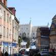 Lublin City streetview — Stock Photo