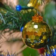 On the christman-tree — Stock Photo