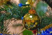 On the christman-tree — Stockfoto