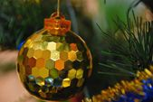 On the christman-tree — Stock Photo