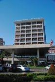 Porto Rose hotels view — Stock Photo