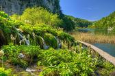 Национальный парк Плитвицкие озера, Хорватия — Стоковое фото