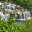 Krka river waterfalls in the Krka National Park, Roski Slap, Croatia — Stock Photo
