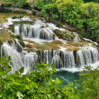 Krka river waterfalls, Roski Slap, Croatia — Stock Photo