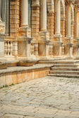 Hektorovic Palace on main square of Hvar, Croatia — Stock Photo