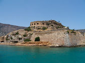 Fort Spinalonga view — Stock Photo