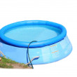 Childs plastic swimming pool — Stock Photo #39576119