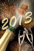 New year 2013 — Stock Photo