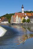 City Landsberg in Germany — Stock Photo