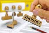 Inquiry — Stock Photo