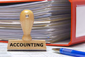 Accounting — Stockfoto
