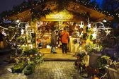 рождественский базар — Стоковое фото