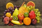 Mezcla de frutas tropicales — Foto de Stock