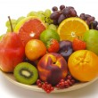 Stock Photo: mixed fruits
