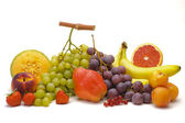 Mixed tropical fruits — Stock Photo