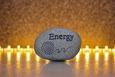 Stone of energy — Stock Photo