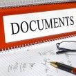 Documents — Stock Photo