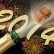 New year 2014 — Stock Photo #24597335