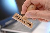 Regulierung — Stockfoto