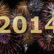 New year 2014 — Foto Stock #24609081
