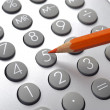 Financial calculator — Stock Photo