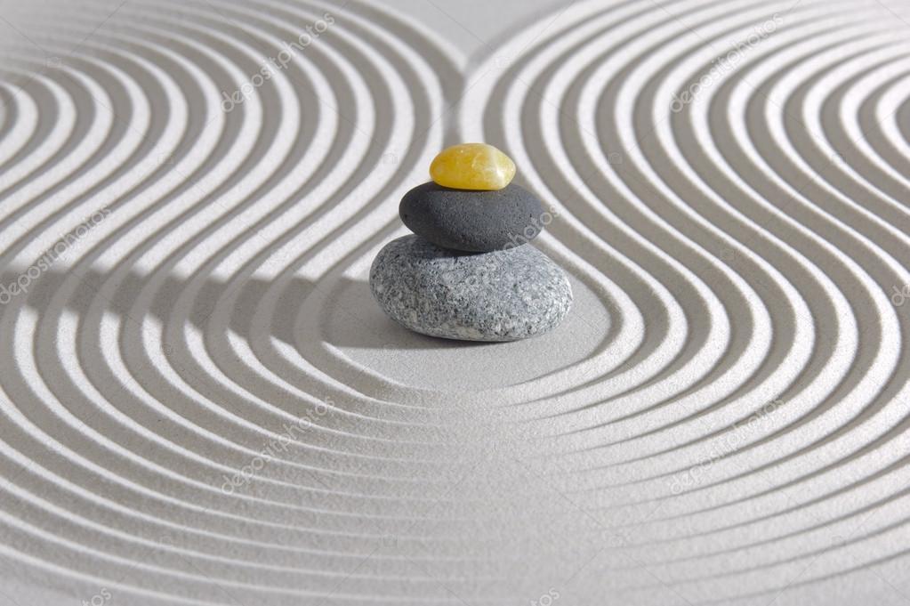 Giappone giardino zen foto stock filmfoto 24874621 for Pietre giardino zen