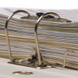 Documents in folder - Stock Photo