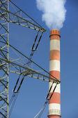 Stazione di energia elettrica — Foto Stock