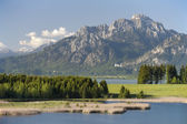 Landsbygdens landskap i bayern — Stockfoto