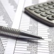 Finance and calculation — Stock Photo